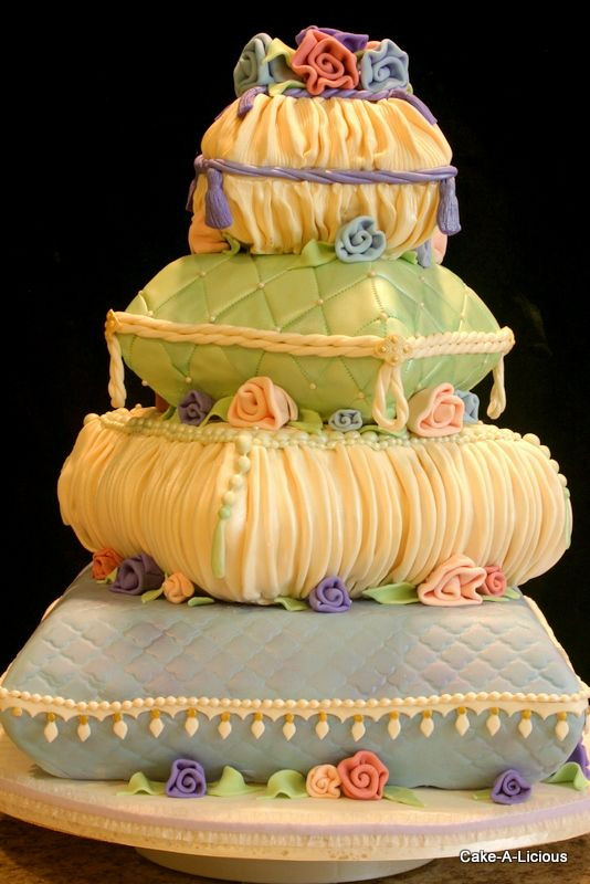 Pillow Wedding Cakes  25 Interestingly Unique Wedding Cake Ideas For Your Big Day