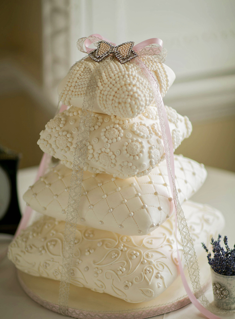 Pillow Wedding Cakes  Cake Food & Drink ideas Smashing the Glass
