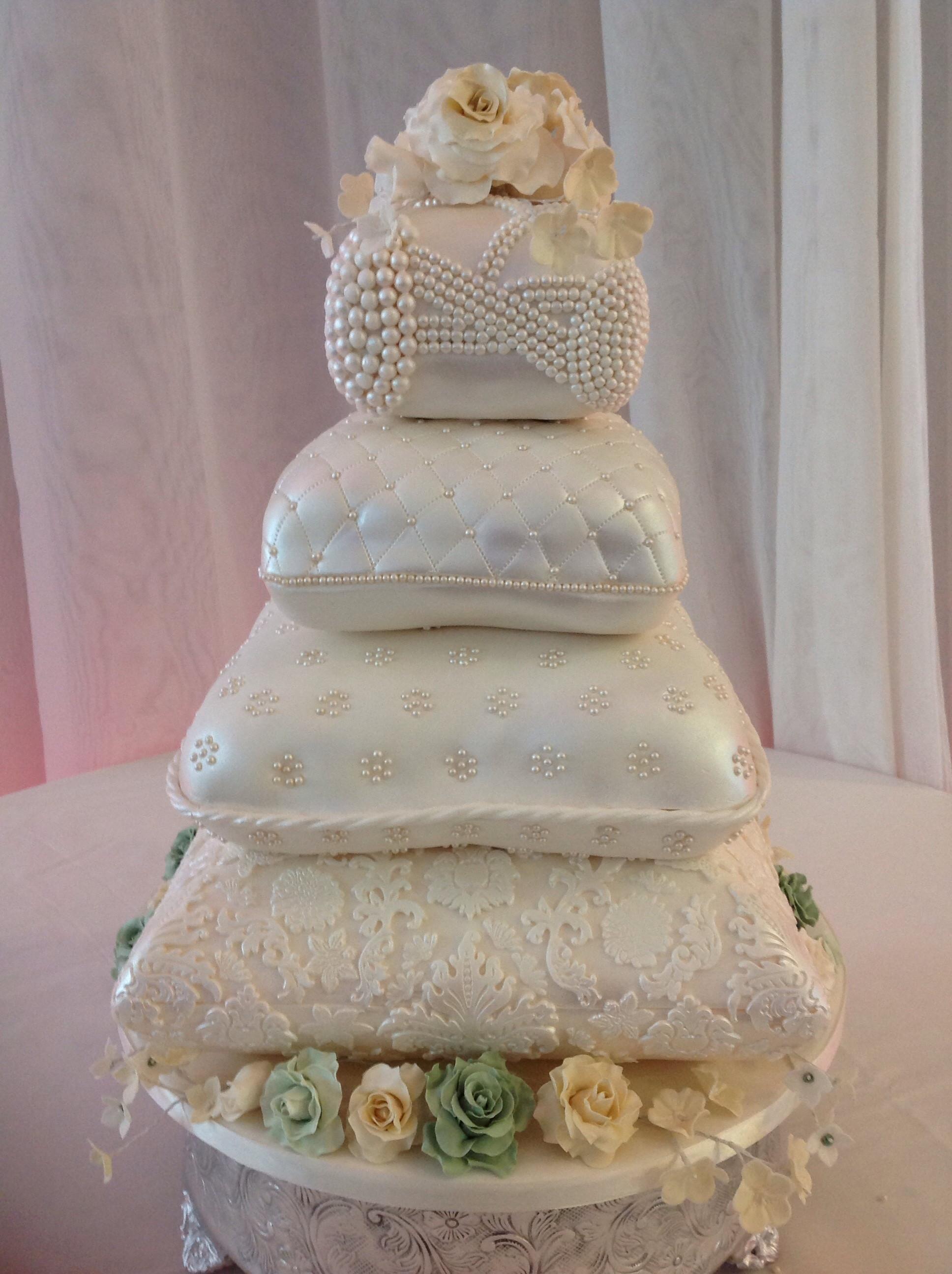 Pillow Wedding Cakes  Pillow Wedding Cake CakeCentral
