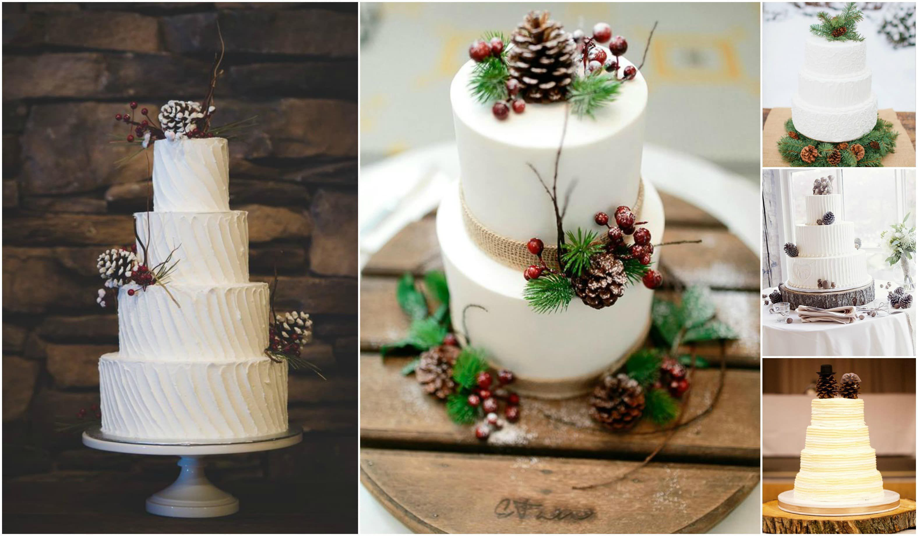 Pine Cone Wedding Cakes  10 Pinecone Wedding Cakes You Will Pine For Rustic