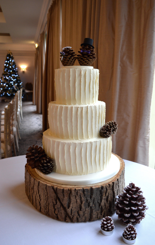 Pine Cone Wedding Cakes  Wedding Cake Trends 2016 Cake Couture NI