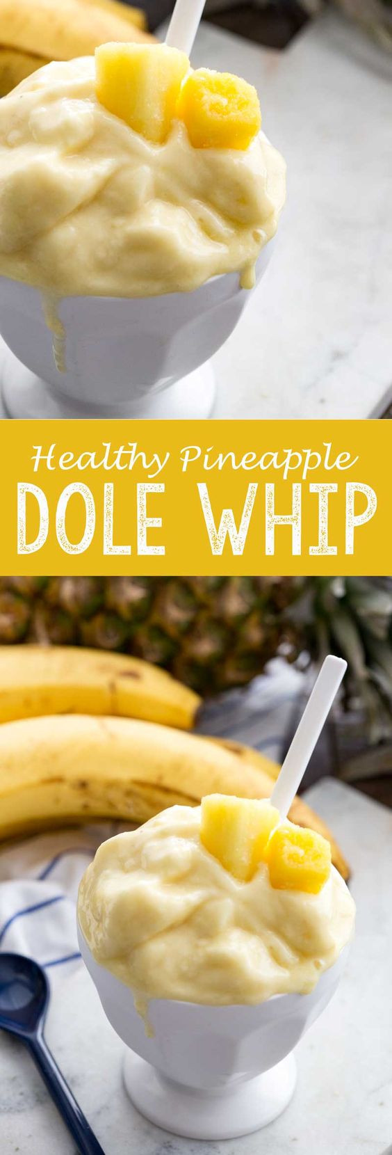 Pineapple Desserts Healthy  Healthy Pineapple Dole Whip Recipe