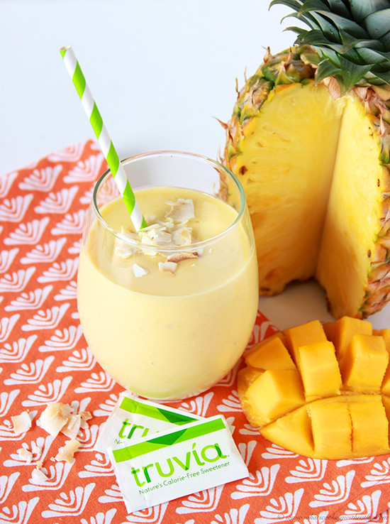 Pineapple Smoothies Healthy  Pineapple Mango Banana Smoothie Cooking With Ruthie
