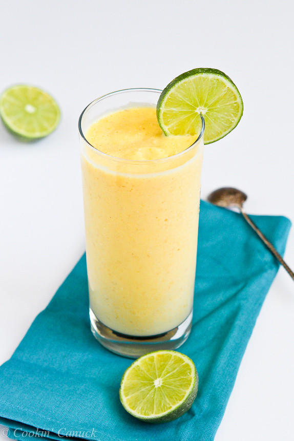 Pineapple Smoothies Healthy  Tropical Mango & Pineapple Smoothie Recipe