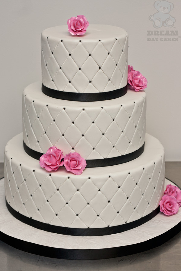 Pink And Black Wedding Cakes  Wedding Ideas Black and Pink Wedding