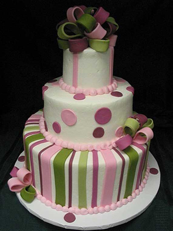 Pink And Green Wedding Cakes  Goes Wedding 25 Wedding Cakes Decoration Ideas by Vicki