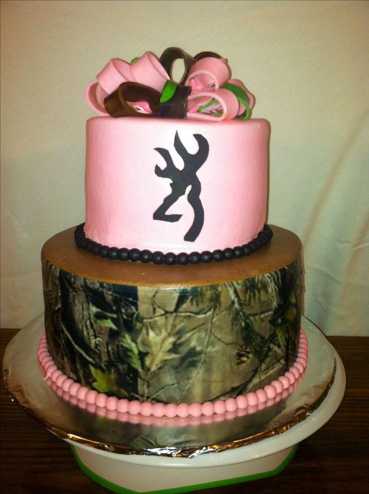 Pink Camouflage Wedding Cakes  CAMO BIRTHDAY CAKES Fomanda Gasa