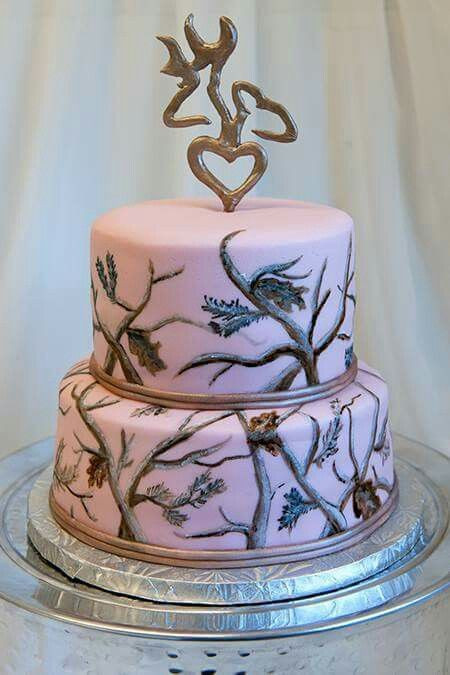 Pink Camouflage Wedding Cakes  1000 ideas about Pink Camo Wedding on Pinterest