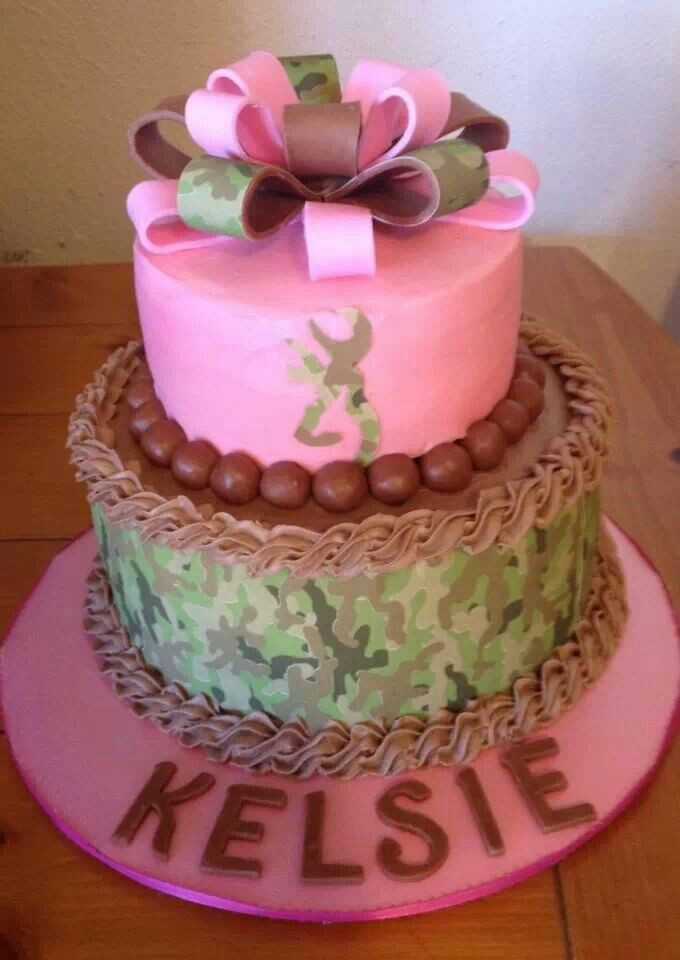 Pink Camouflage Wedding Cakes  25 best ideas about Pink camo cakes on Pinterest