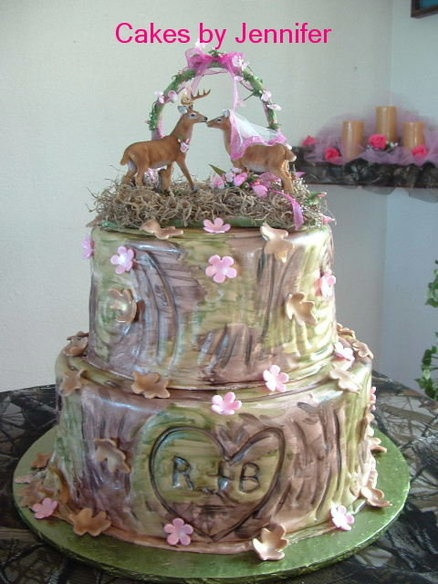 Pink Camouflage Wedding Cakes  177 best Hunting Cakes images on Pinterest