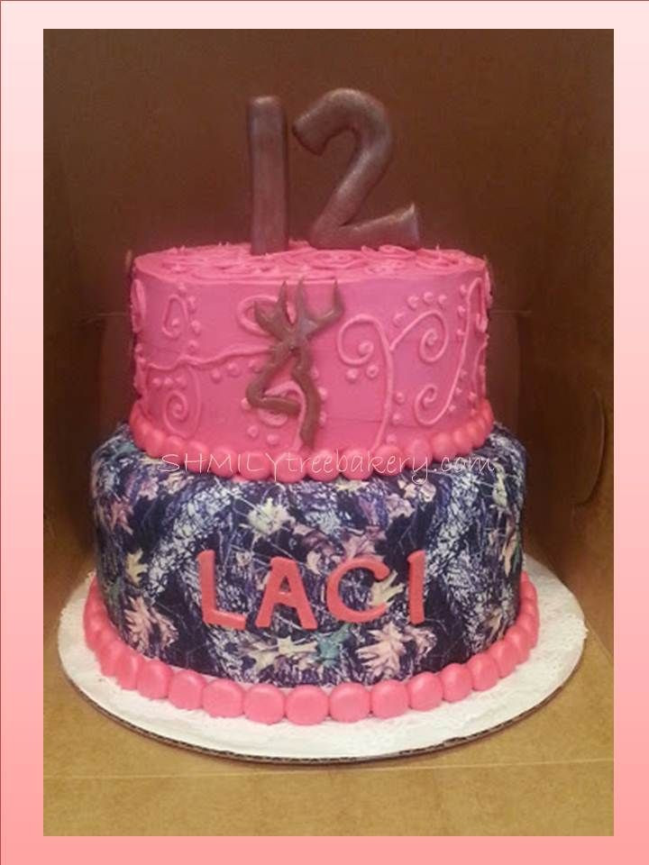 Pink Camouflage Wedding Cakes  Best 25 Pink camo cakes ideas on Pinterest