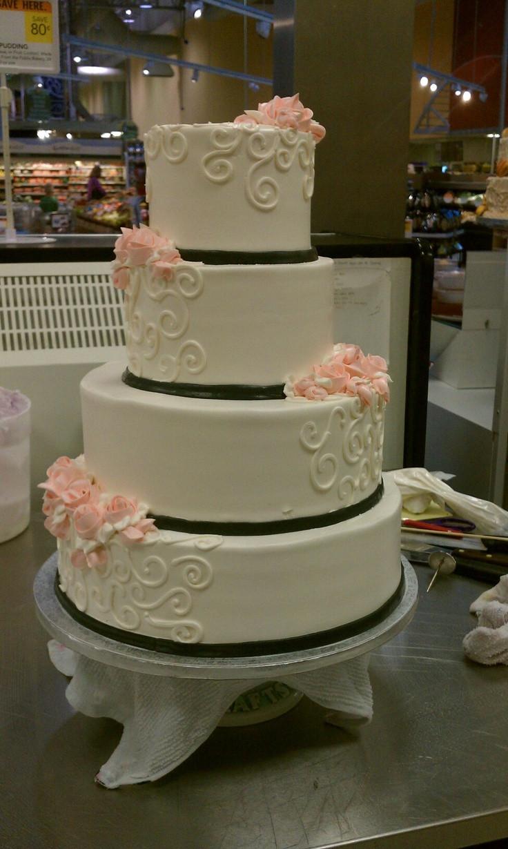 Pinterest Wedding Cakes  Simple wedding cakes pinterest idea in 2017