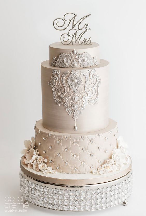 Pinterest Wedding Cakes  25 Best Elegant Wedding Cakes Ideas Pinterest Elegant