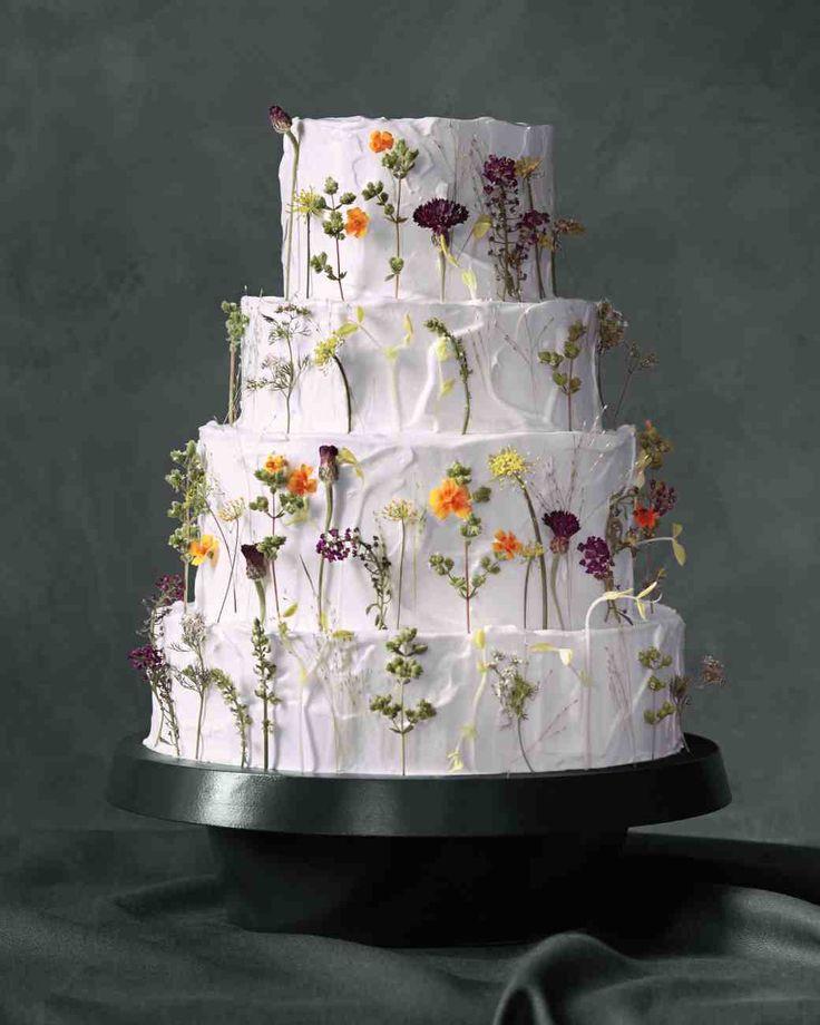 Pinterest Wedding Cakes  Cakes With Best 25 Wildflower Cake Ideas