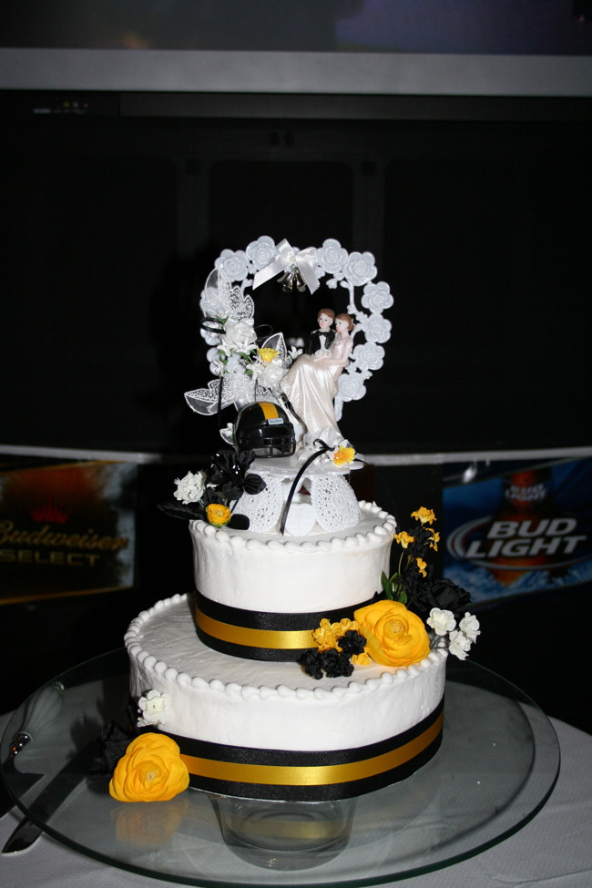 Pittsburgh Wedding Cakes  Pittsburgh steelers