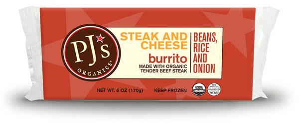 Pjs Organic Burritos  PJ's Organics