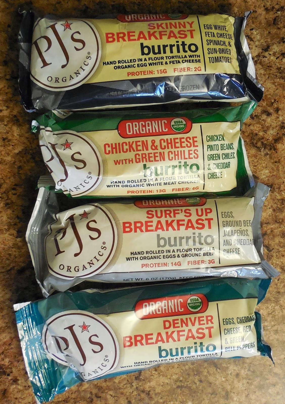 Pjs Organic Burritos  PJ s Organic Burritos Review