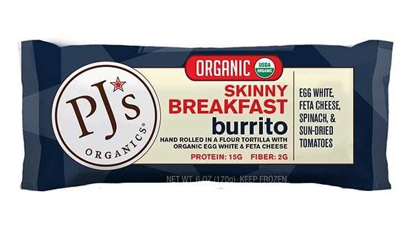 Pjs Organic Burritos  15 Clean and Healthy Frozen Foods