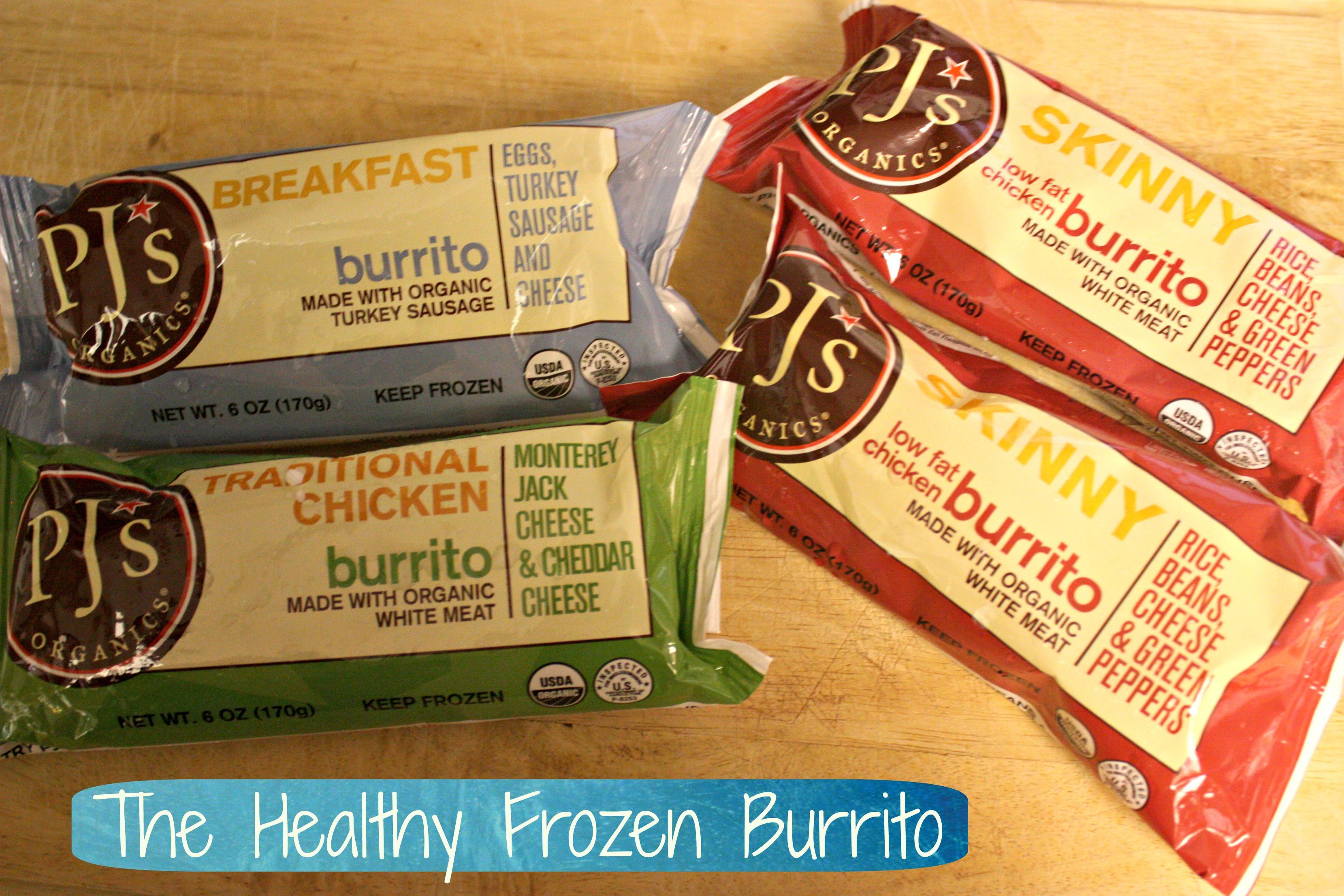 Pjs Organic Burritos  PJ's Organic Frozen Burrito Review