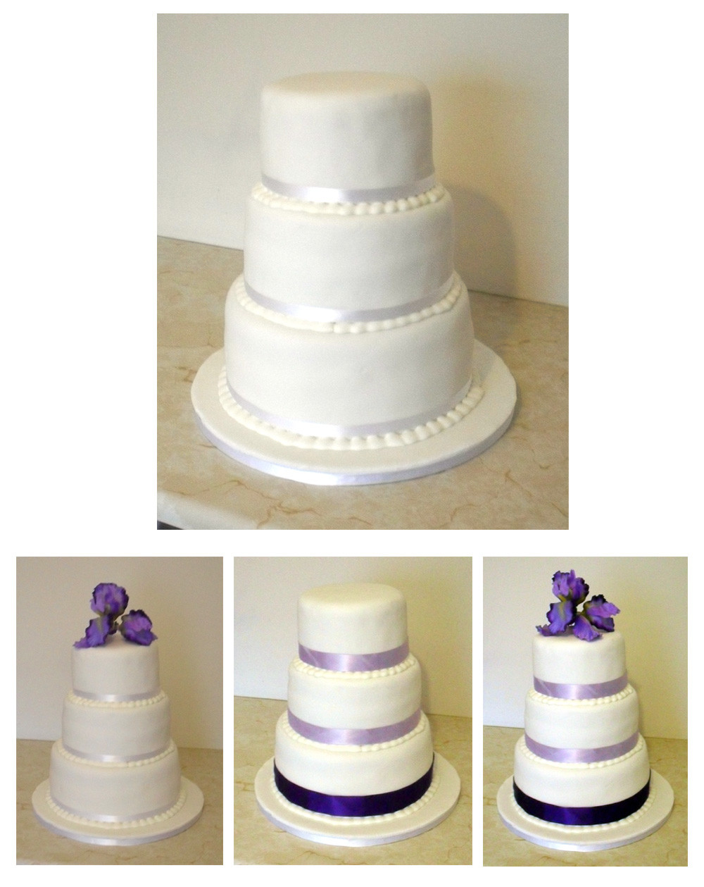Plain White Wedding Cake  Sprinkles & Crumbs Busy busy busy