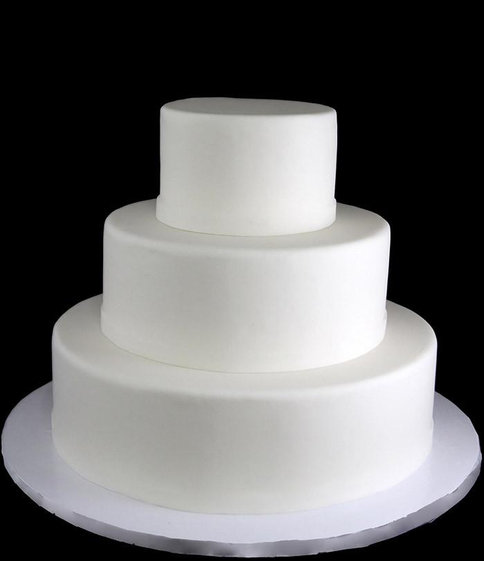 Plain White Wedding Cakes  Ryleigh's 1st Birthday party Birthday Cake Part 4