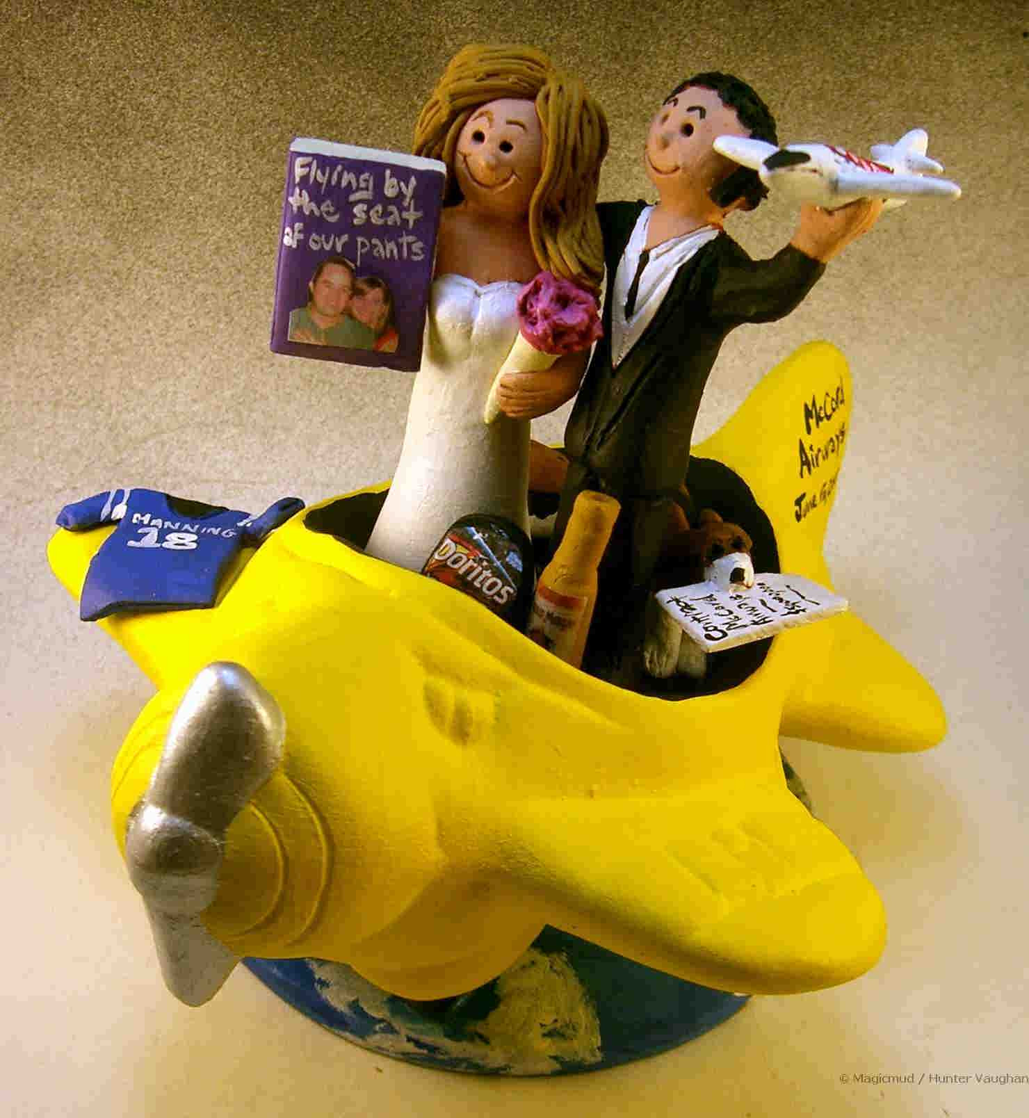 Plane Wedding Cakes  wedding cake toppers Cheap Cake Toppers For Wedding Cakes