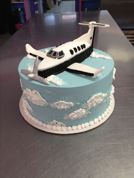Plane Wedding Cakes  Airplane grooms cake for a pilot Wild Flour Bakery