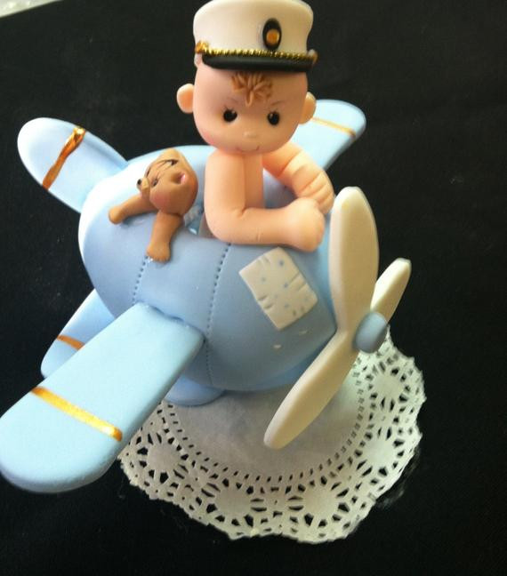 Plane Wedding Cakes  Airplane Cake Topper Pilot Cake Topper Airforce Cake