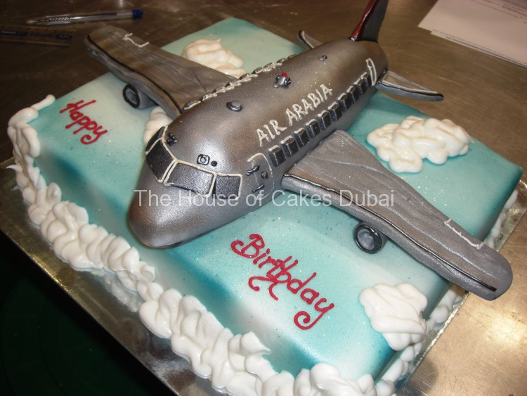 Plane Wedding Cakes  Air Arabia Plane Cake