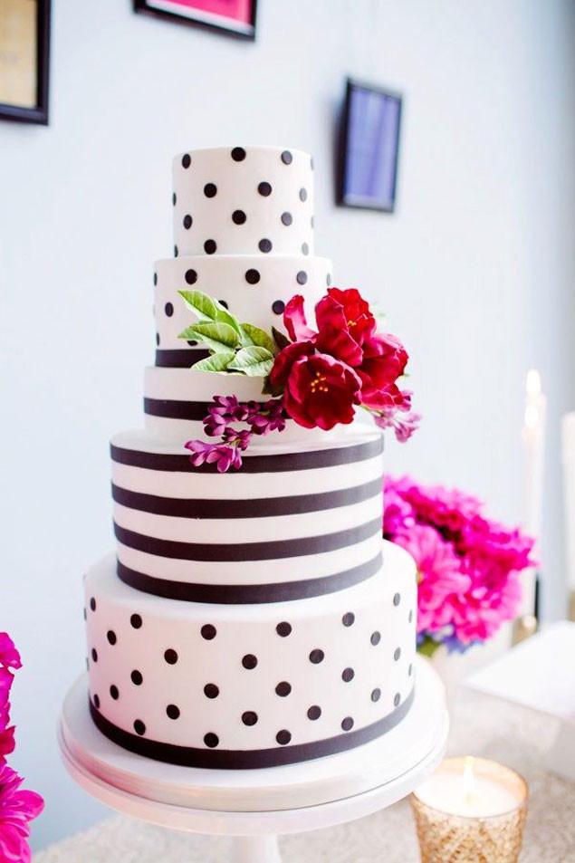 Polka Dots Wedding Cakes  Polka Dot Wedding Cakes WedLoft