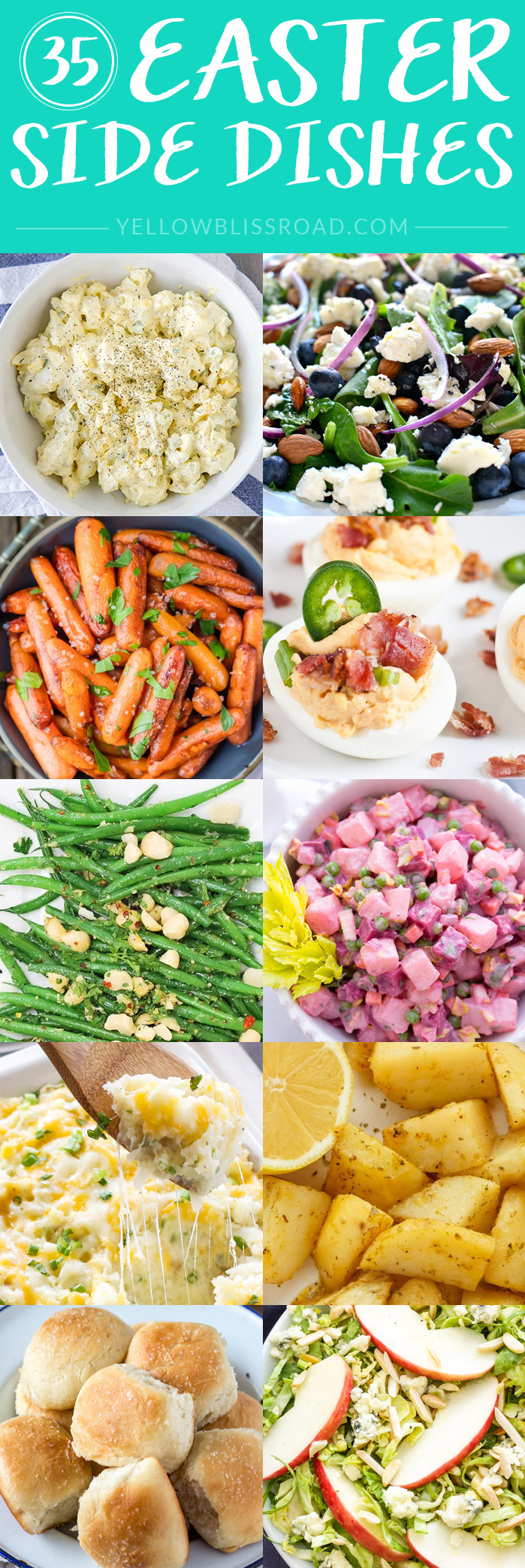 Popular Easter Dinners  Easter Side Dishes More than 50 of the Best Sides for