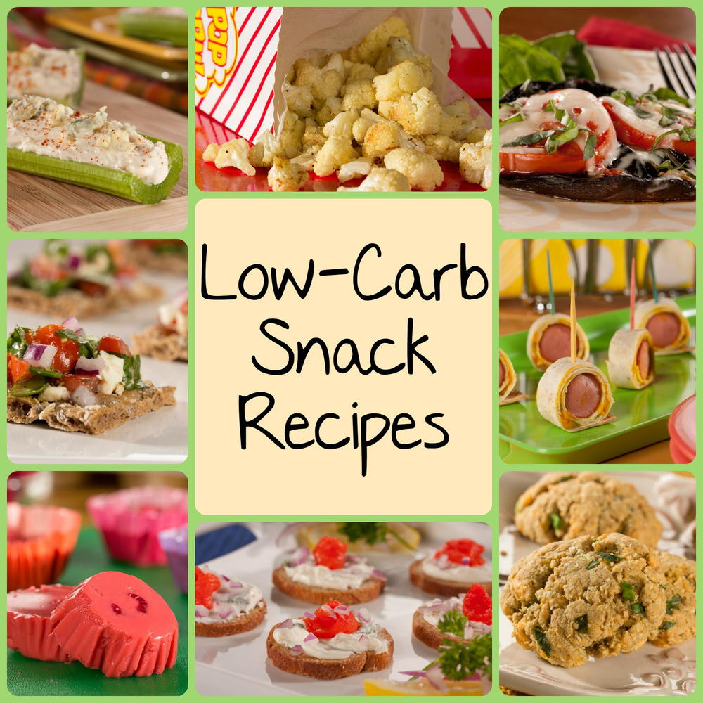 Popular Healthy Snacks  10 Best Low Carb Snack Recipes