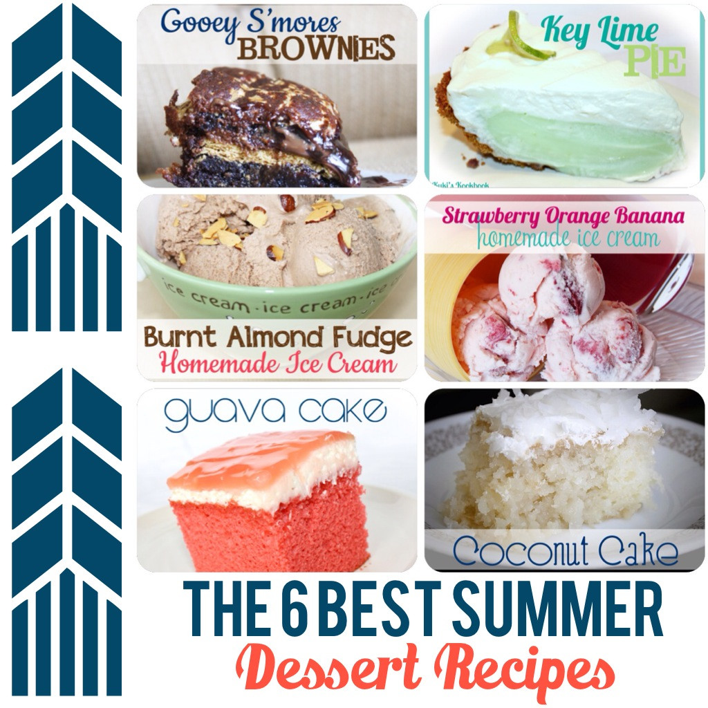 Popular Summer Desserts  Kuki s Kookbook The 6 BEST Summer Desserts