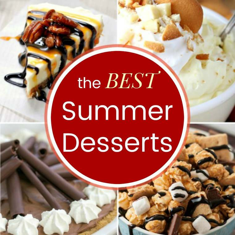 Popular Summer Desserts  Best Summer Dessert Recipes Cupcakes & Kale Chips