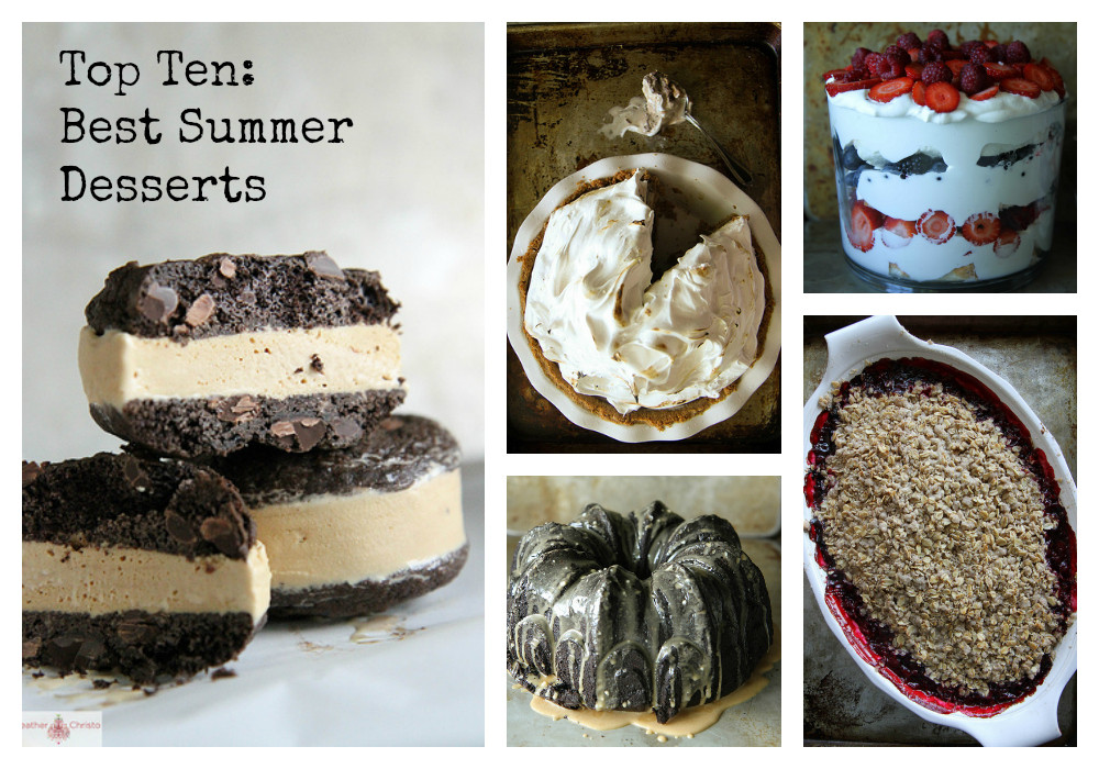 Popular Summer Desserts  TOP TEN Best Summer Desserts