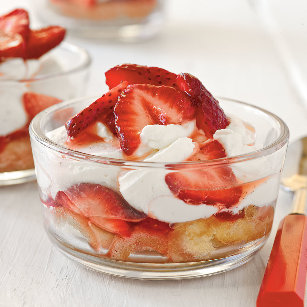 Popular Summer Desserts  Mini Strawberry Shortcakes Recipe Best Summer Desserts
