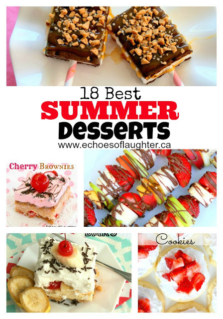 Popular Summer Desserts  18 Best Summer Desserts Echoes of Laughter