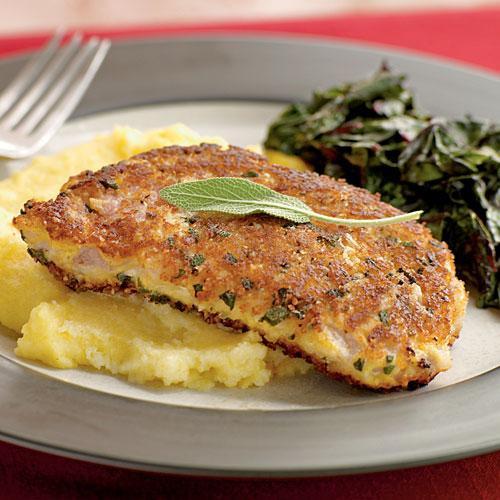 Pork Chops Healthy Recipe  Parmesan and Sage Crusted Pork Chops Healthy Pork Chop