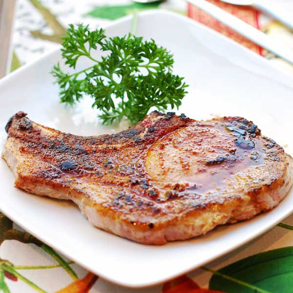 Pork Chops Healthy Recipe  Baked Pork Chops Easy and Healthy Recipe VIDEO