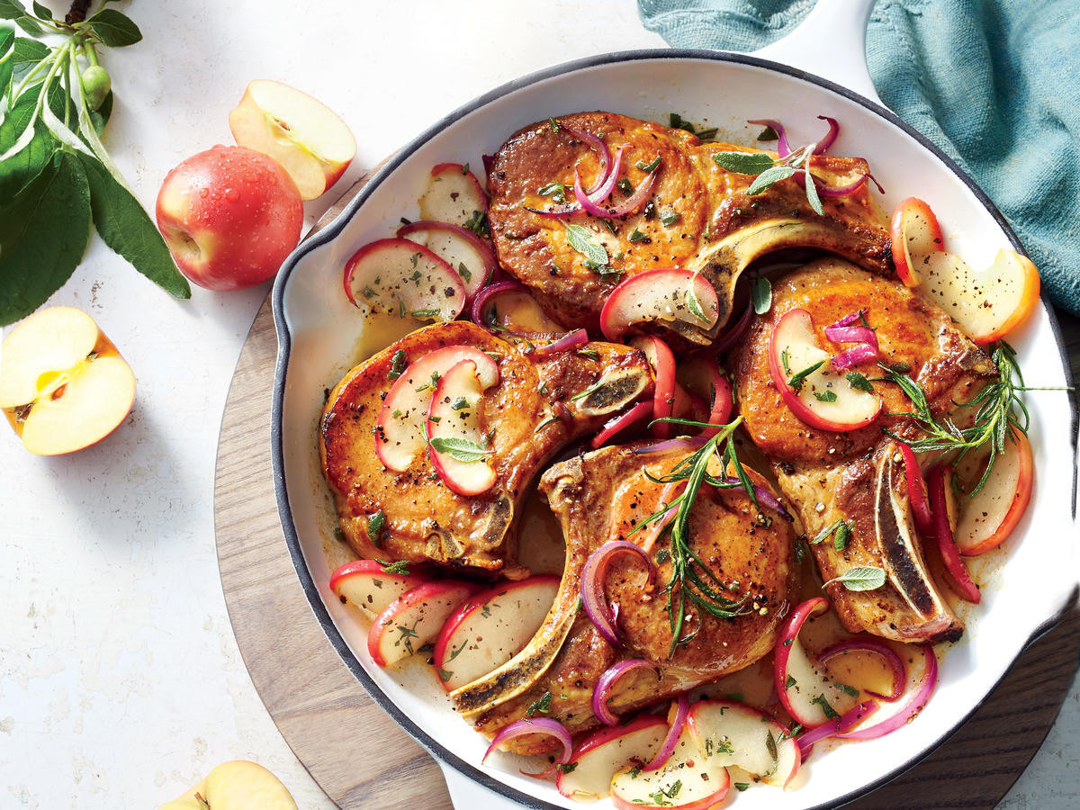 Pork Chops Recipe Healthy  Healthy Pork Chop Recipes Cooking Light