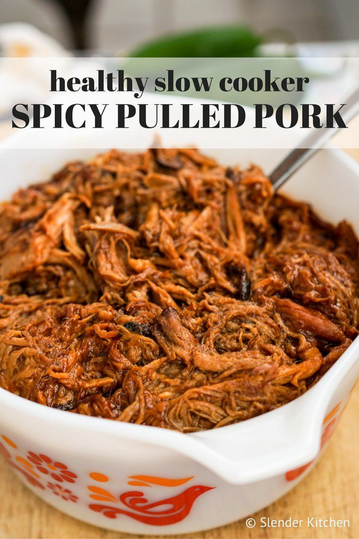 Pork Slow Cooker Recipes Healthy  25 best ideas about Healthy pulled pork on Pinterest