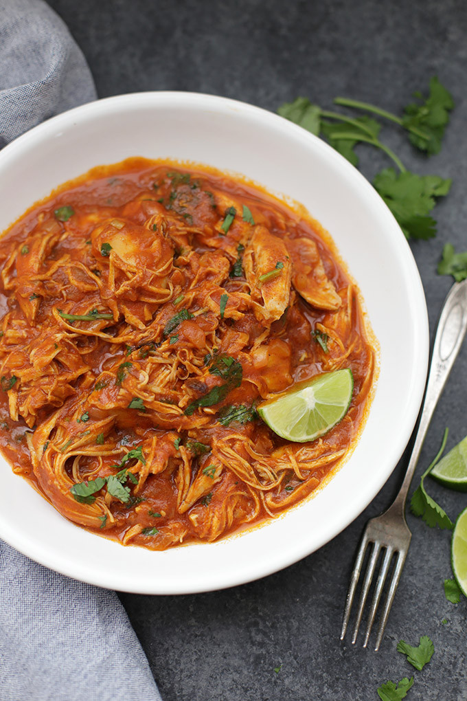 Pork Slow Cooker Recipes Healthy  Slow Cooker Butter Chicken e Lovely Life