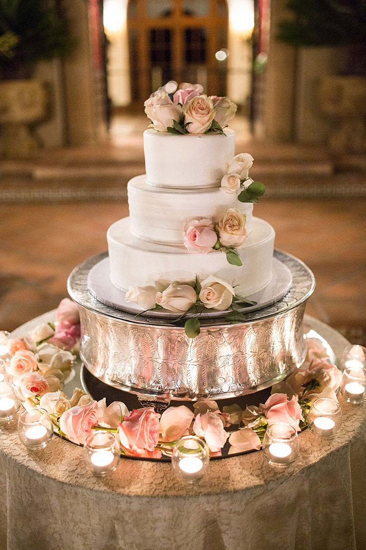 Portos Bakery Wedding Cakes  Elegant Romantic Outdoor Wedding at the Hummingbird Nest