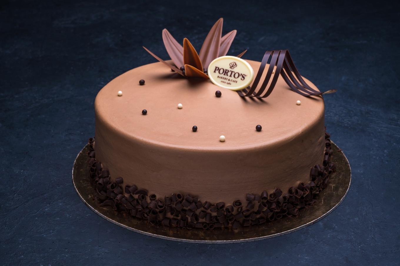 """Portos Wedding Cakes Prices  Parisian Chocolate Cake 9"""" Porto s Bakery"""