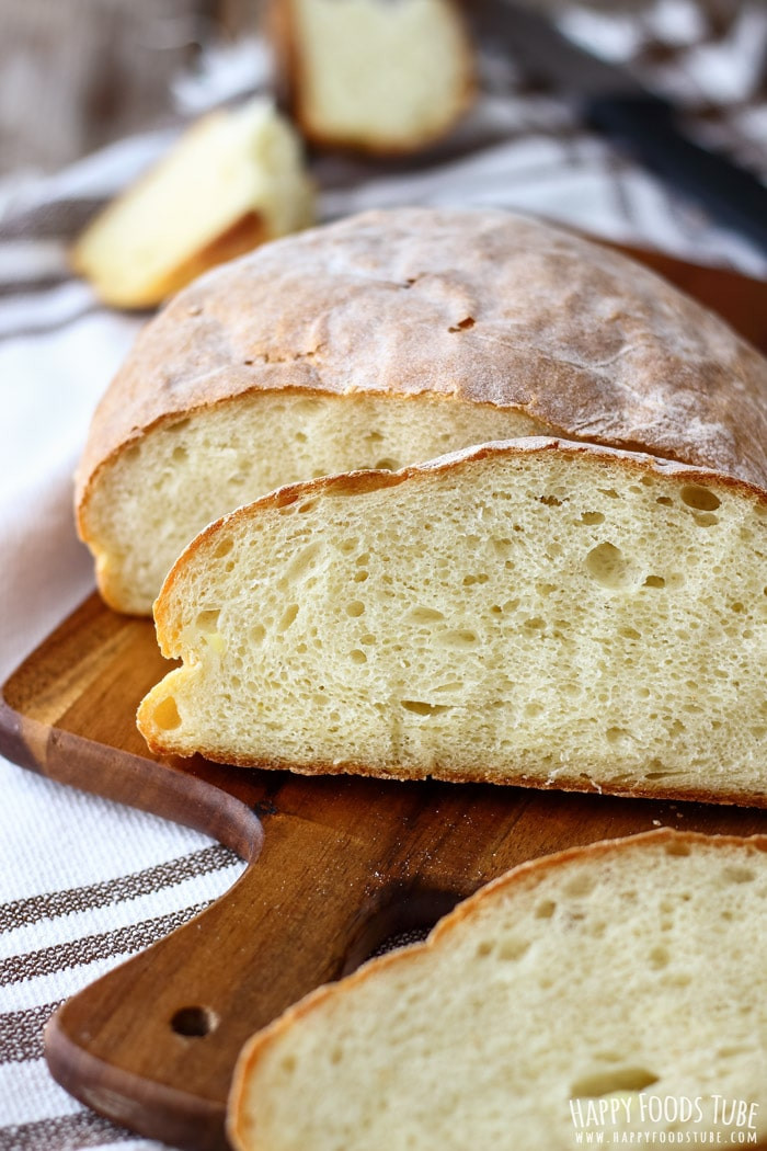 Potato Bread Healthy  Homemade Potato Bread Happy Foods Tube