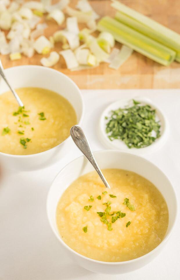 Potato Leek Soup Healthy  Scottish Leek and Potato Soup Neils Healthy Meals