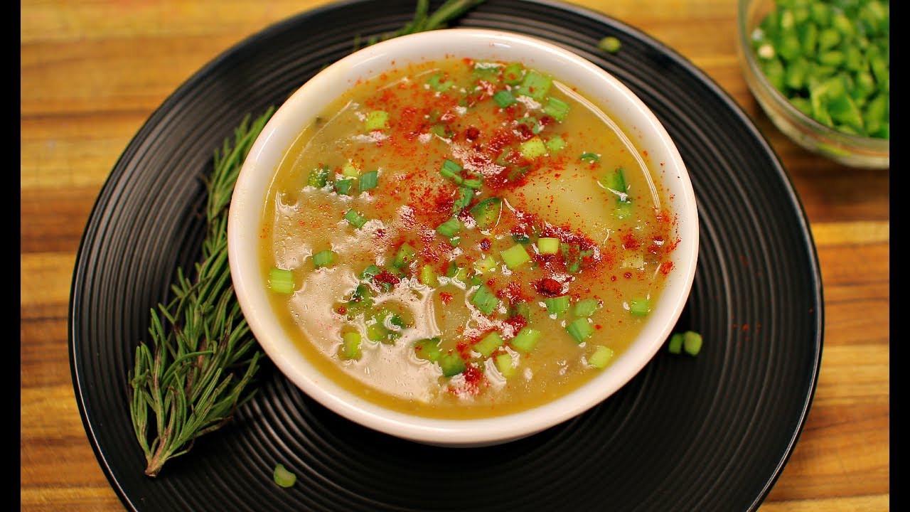 Potato Leek Soup Healthy  Potato Leek Soup Recipe healthy recipe channel vegan