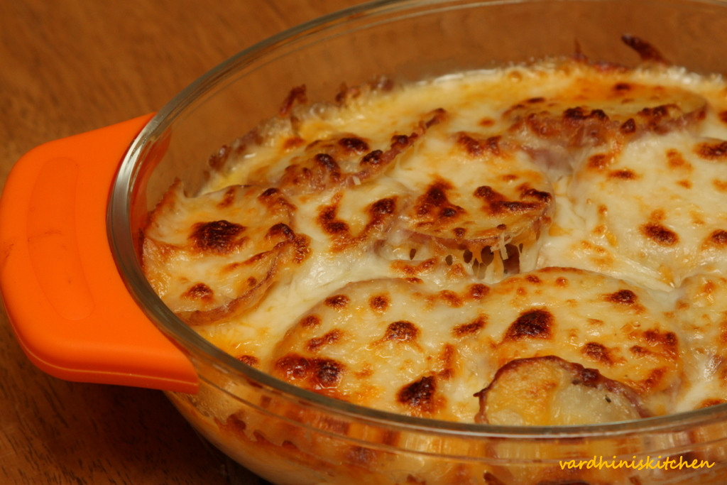 Potatoes Au Gratin Healthy  Cooks Joy Potato Au Gratin – Low Fat