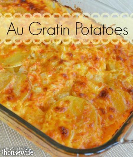 Potatoes For Easter Dinner  Au Gratin Potatoes Recipe for Easter