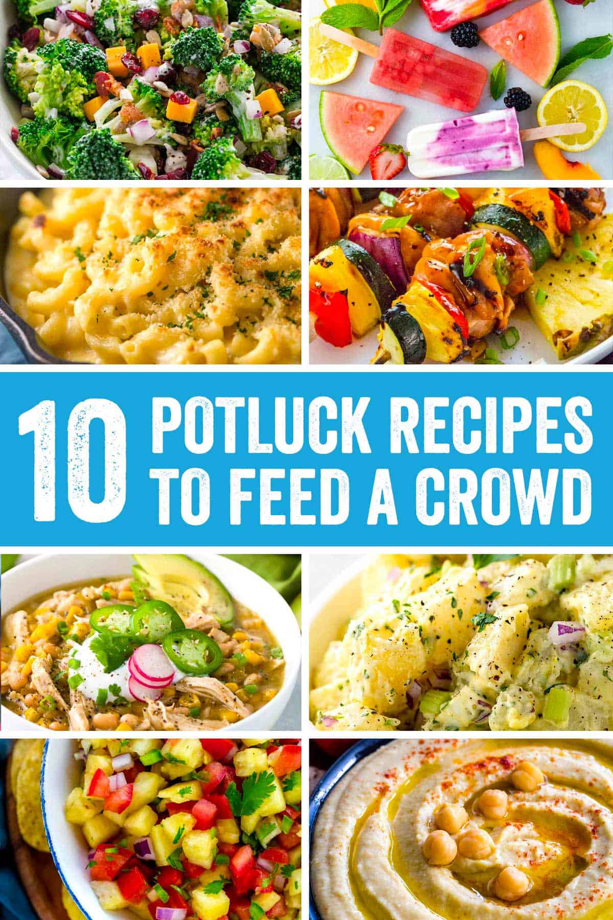 Potluck Side Dishes For Summer  Potluck Recipes to Feed A Crowd